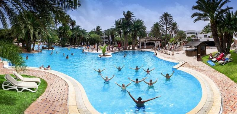 Po itnice tunizija zarzis hotel odyssee resort 4 for Hotels zarzis